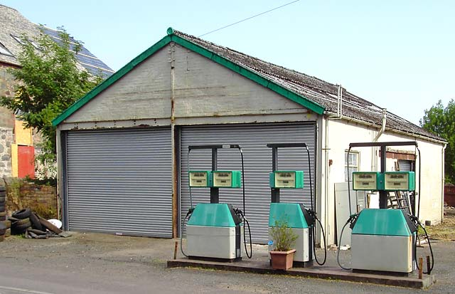 Petrol Station, Burrell Street, Comrie - 2008