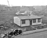 Prefab at Craigmillar  -  Photograph published 1960