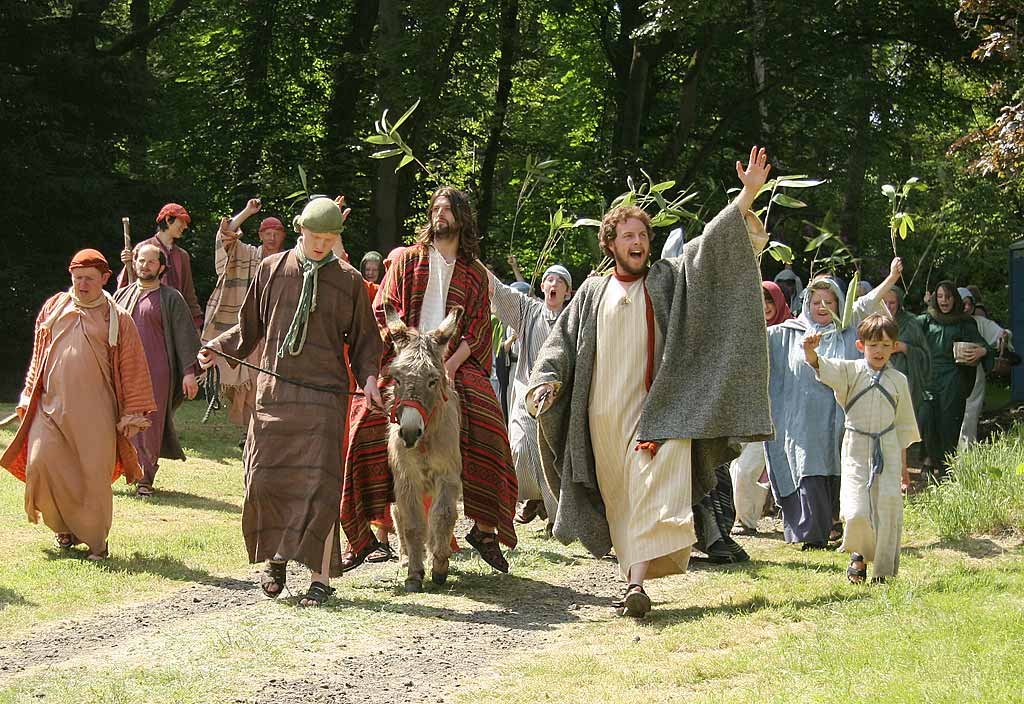 A Scene From The Life Of Jesus Christ
