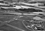 Aerial View of Edinburgh Airport and the A9, taken in 1966