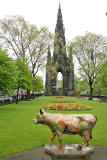 Edinburgh Cow Parade  -  2006  -  The Scott Monument