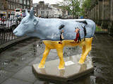 Edinburgh Cow Parade  -  2006  -  The West End of Princes Stree