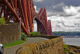 Road to the Forth Bridge -  North Queensferry