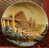 The Forth Bridge  -  Souvenirs  -  Bossons Plaque