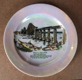 The Forth Bridge  -  Souvenirs  -  Carlton Ware Plate