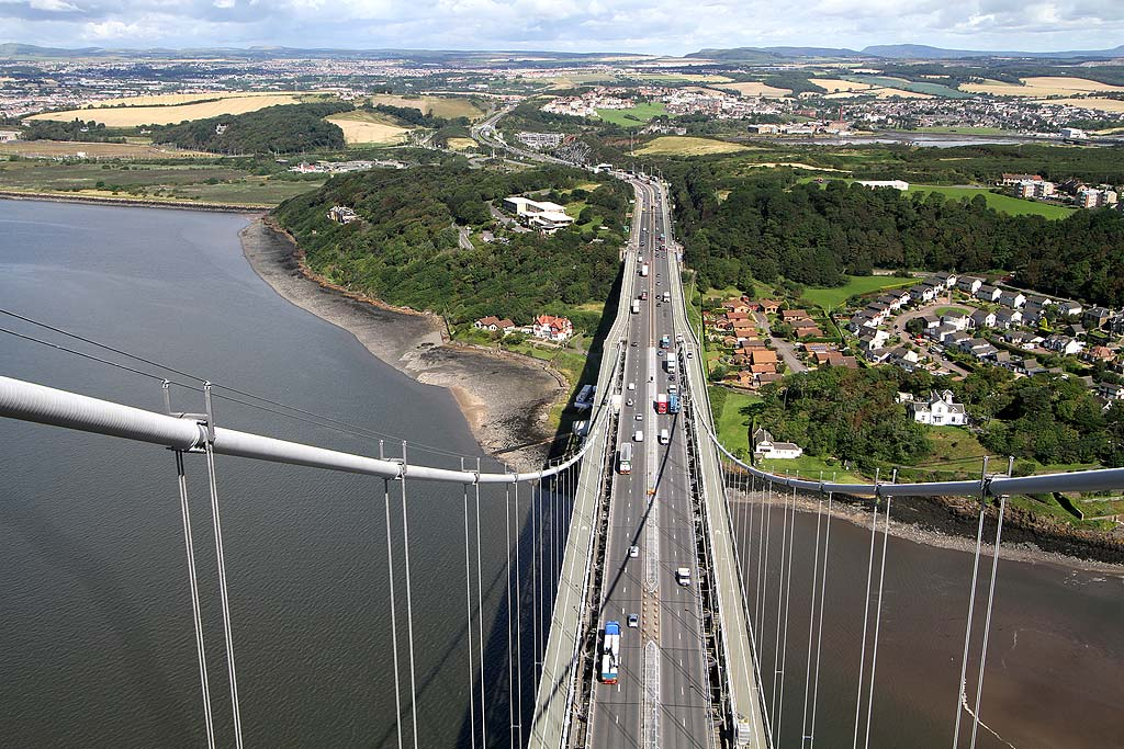 Forth Road Bridge  -  August 2011