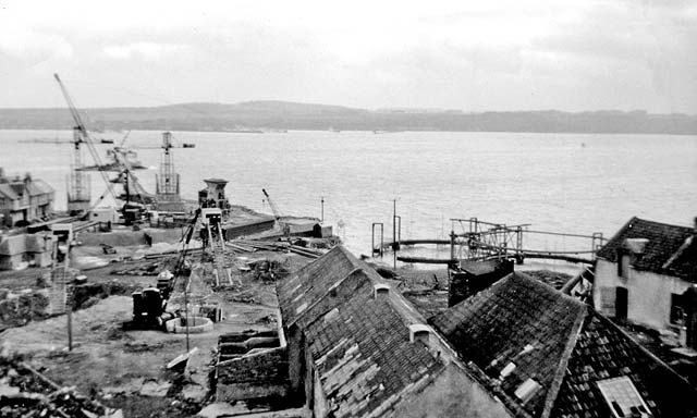Forth Road Bridge Traffic >> Building the Forth Road Bridge - North Queensferry - 1960-64