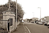 Gilmerton Road  -   Police Box near the corner of Newtoft Street