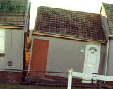 Gilmerton house, hit by subsidence November/December 2000