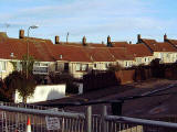 Gilmerton houses, hit by subsidence November/December 2000
