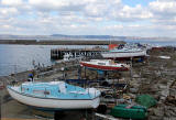 Photo taken at Granton Harbour on the day of the Forth Corinthian Yacht Club 'lift-in' - 6 April 2013