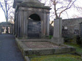 Greyfriars Graveyard  -  Gravestone to members of the Rose Family, including Elmslie William Dallas