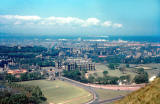 Looking down on Holyrood Palace - 1961