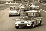 Racing Cars at Ingliston Race Track, around 1967-68