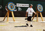 Scottish Axe-Throwing Championships at Inverleith Park  -  June 2004
