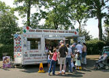 Ice Cream Van at the East Gate of Inverleith Park during 'Treefest Scotland', 2006