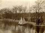 Sailing Model Yachts on Inverleith Park Pond, around 1926