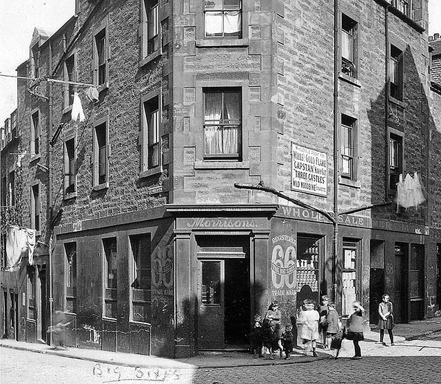 George Street and St Andrew's Wynd Leith, Around 1920
