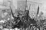 Great Dock Strike  -  Protest on the streets of Leith  -  1889