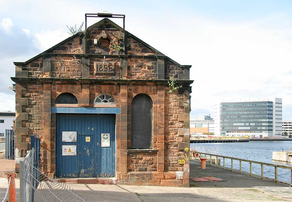 Victorian Pumping Station Beside Alexandra Dry Dock Leith