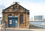 Victorian Pumping Station beside Alexandra Dry Dock, Leith  -  September 2005