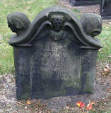 Gravestone in North Leith Graveyard  -  James Home, died 1758