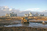 Redevelopment of Leith Western Harbour  -  View towards Platinum Point from Newhaven Place