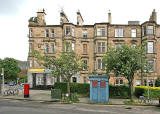 Belhaven Terrace, Morningside - Police Box
