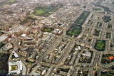Aerial Photograph  -  Looking to the West across Edinburgh New Town  -  6 December 2003