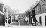 Newhaven Streets  -  New Lane  -  A postcard by J R Russell, Edinburgh