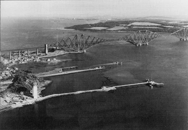 North Queensferry  -  Photograph taken in the 1950s before the opening of the Forth Road Bridge