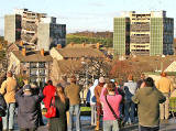 Oxgangs  -  Demolition of high-rise flats, Allermuir Court and Caerketton Court
