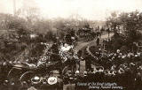 Funeral Procession for 'The Great Lafayette' entering Piershill Cemetery  -  1911