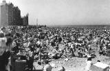 A busy Portobello Beach  -  Trade Holidays 1952