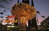 Edinburgh, Christmas 2005  -  The Flying Carousel in East Princes Street Gardens
