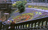Floral Clock in Princes Street Gardens, 1962