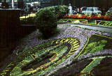 Floral Clock in Princes Street Gardens, 1964
