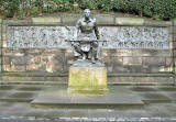 Scottish American War Memorial in East Princes Street Gardens