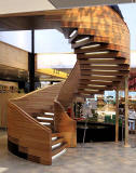 Royal Botanic Garden  -  Spiral Staircase at John Hope Gateway