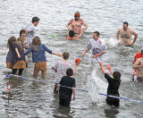 The Loony Dook  -  A dip in the Firth of  Forth at South Queensferry on New Year's Day, 2010