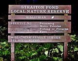 Local Nature Reserve Sign  -  Straiton Pond