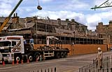 Demolition of the Morrison & Gibb building, Tanfield