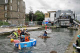 Raft Race on the Union Canal - June 28, 2008