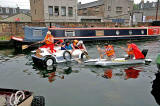 Raft Race on the Union Canal - June 27, 2009