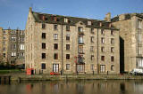 The North Bank of the Water of Leith, opposite The Shore, Leith  -  October 2005