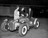 Lothian |Car Club Driving Tests - Ford Special at Waverley Market - 1961