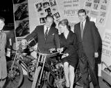 Scottish Open Air Holiday Show at Waverley Market, Two bikes - 1960