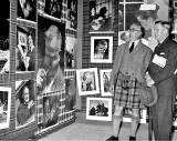Pictures on the Wall at  'This Scotland Exhibition' at Waverley Marketm, 1959