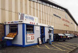 Edinburgh Waterfront  -  Nicky's Place, selling hot and cold food, close to the entrance to Granton Harbour  -  25 August 2002