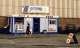 Edinburgh Waterfront  -  Nicky's Place, serving hot and cold food, near the entrance to Granton Harbour  -  25 August 2002